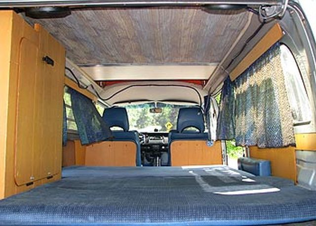 1974 Westfalia Interior