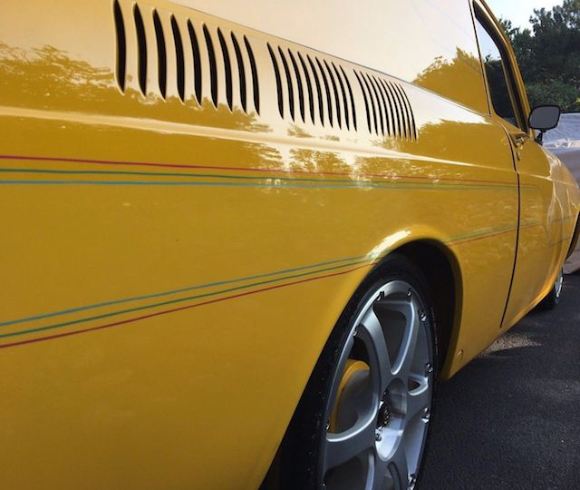 VW Pinstripes