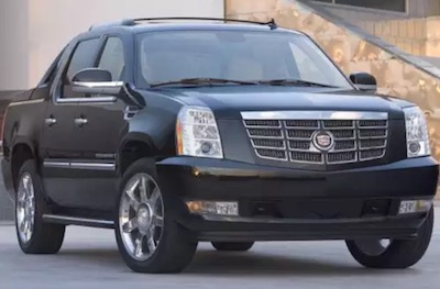 the cadillac escalade ext is a heavy-duty suv that was in production  between 2002 and 2006, and this all-wheel-drive vehicle is packed with  luxury features