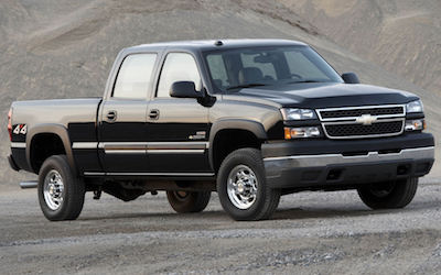 Chevrolet Silverado 2500 HD Years | GMPartOnline
