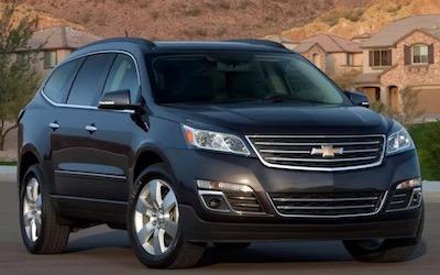 Chevrolet Traverse Years   GMPartOnline