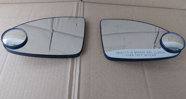 Side mirror glass