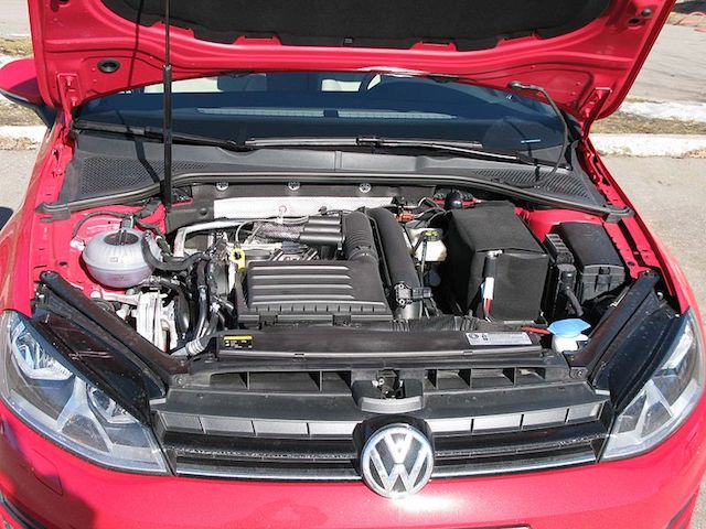 VW Engine Bay