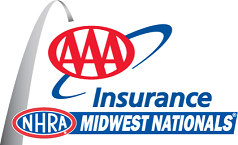 AAA Insurance NHRA Midwest Nationals logo