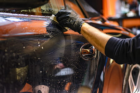 Wash your car regularly to remove dirt and other abrasives that are harmful to it's paint.