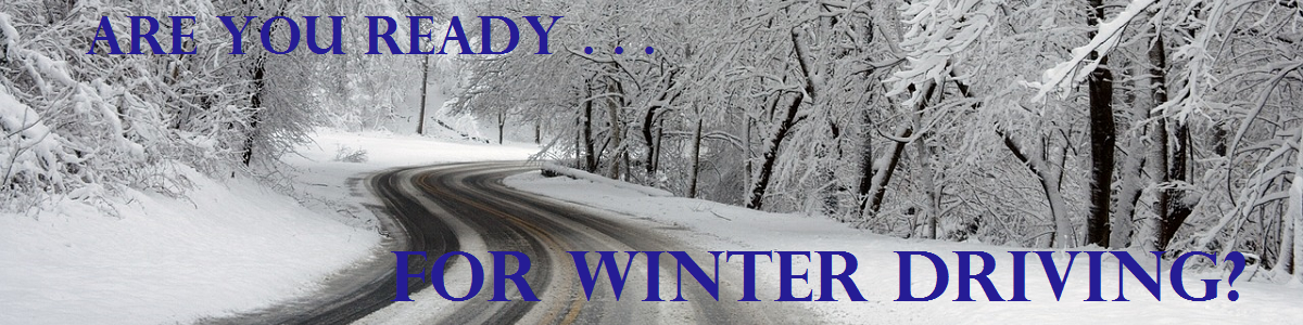 Make sure you and your car are ready for the winter this year.
