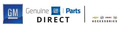 Genuine GM Parts Direct Logo
