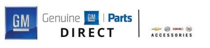 Genuine GM Parts Direct Logo