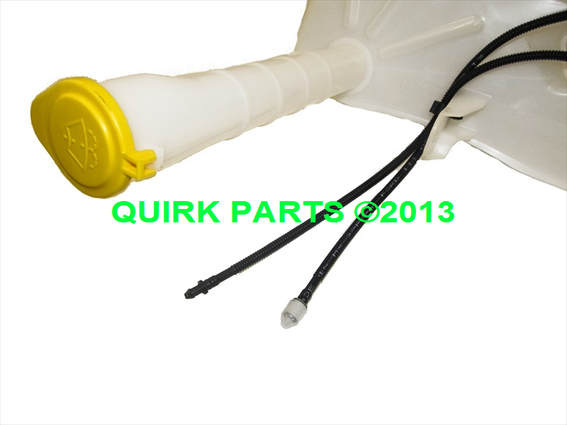 L Z A on 2008 Ford Escape Windshield Washer Reservoir