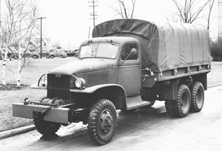 The GMC CCKW was also known as the deuce-and-a-half or the Jimmy.