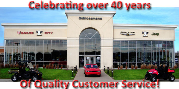 Schlossmann Auto, over 40 years of Quality customer service and value!