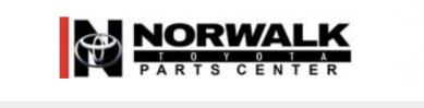 Norwalk Toyota OEM Parts Giant Logo