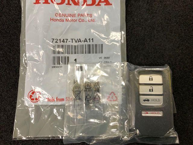 NEW SEALED OEM 2016-18 Honda Civic Smart Remote Key 72147-TBA-A11 FOB,ENTRY KEY