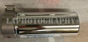 4l3z5k238aa 2008 2009 2010 2011 2012 2013 2014 2015 2016 2017 2018 2019 Ford F-150 exhaust tip chrome plated - Ford (4L3Z-5K238-AA)