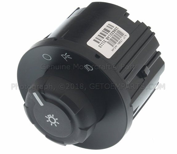 Headlamp Switch - Ford (KC3Z-11654-AA)