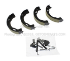 Park Brake Shoes - Ford (6L2Z-2648-A)