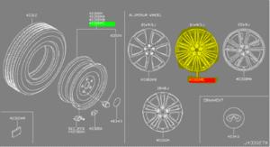 Wheel, Alloy - Infiniti (d0c001a52d)
