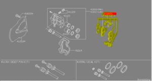 Disc Brake Pad Set - Infiniti (d1060zc027)