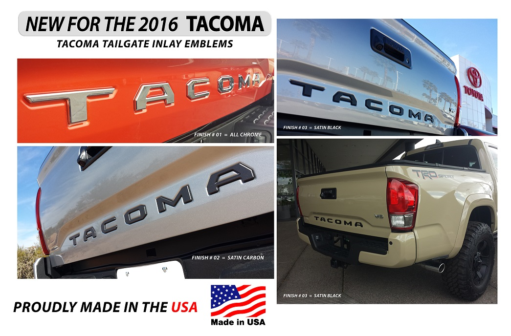 Tacoma Tailgate Inlay