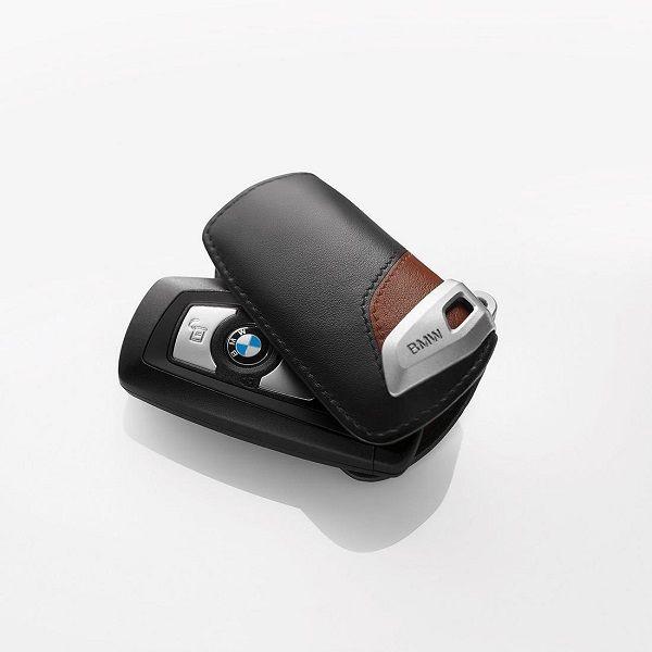 BMW Brown Luxury Line Key Fob Case - BMW (82-29-2-219-917)
