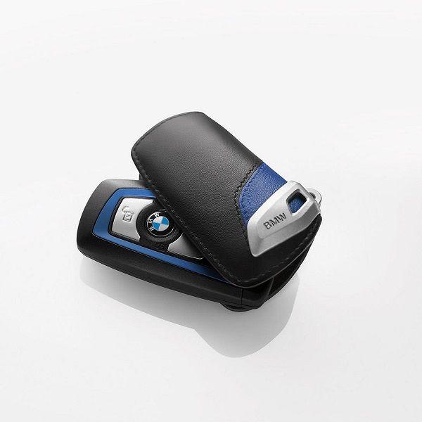 BMW Blue M Sport Line Key Fob Case - BMW (82-29-2-219-915)