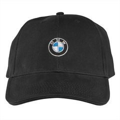 BMW Roundel Cap - Black - BMW (80-16-2-208-705)