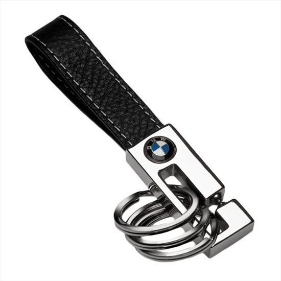 BMW 3 Key Ring - Black - BMW (80-23-2-209-854)