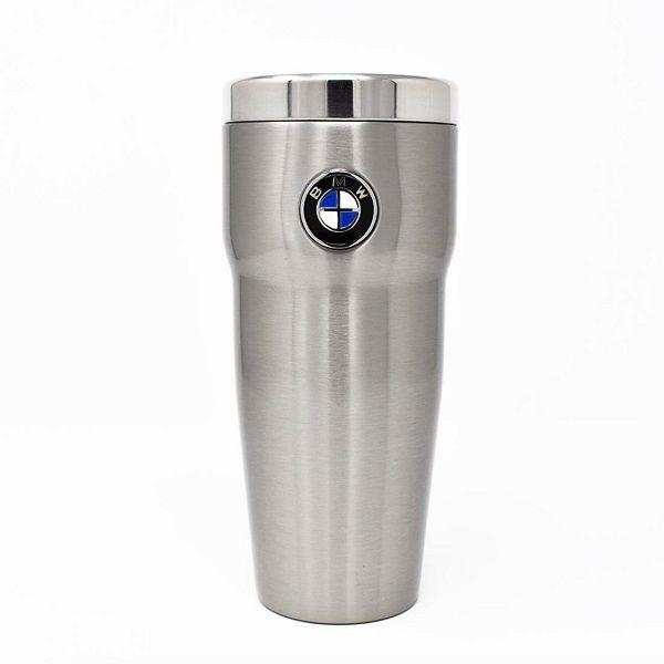BMW Roundel Mug 16 oz. - Stainless - BMW (80-90-2-244-611)