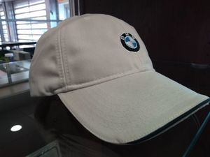 Recycled Brushed Twill Cap - Stone with Logo - BMW (80-16-0-439-606)