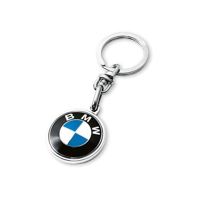 BMW Key Chain Roundel Logo - BMW (80-27-2-454-773)