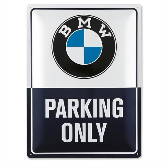 BMW Classic Metal Plate Sign - BMW (80-28-2-463-140)