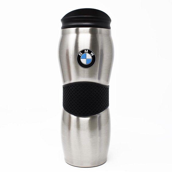 BMW Gripper Travel Mug - Stainless Steel - BMW (80-90-0-439-610)