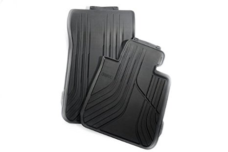 Genuine Rubber Floor Mats With Carpeted Heel For 2009 2011 Bmw