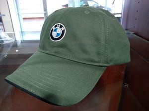 Recycled Brushed Twill Cap - Olive Green with Logo - BMW (80-16-0-439-607)