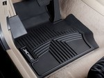 All Weather Rubber Floor Liners, Front Set