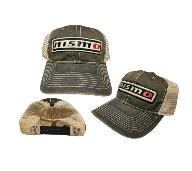 Custom Vintage Nismo T-Stained Mesh Snapback Cap *Colors Sold Separately*