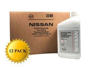 Genuine Nissan OEM CVT-2 Transmission Fluid 999MP-NS200P (12 Quarts New Part# 999MP-CV0NS2)