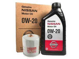 Genuine Nissan 0W-20 Oil Change Kit