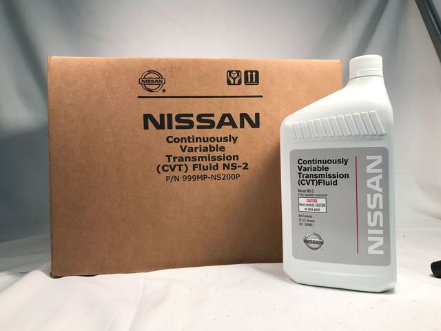 Genuine Nissan OEM CVT-2 Transmission Fluid 999MP-NS200P (12 Quarts New Part# 999MP-CV0NS2) - Nissan (PKNS212)