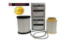 Genuine OEM Nissan Titan XD 5.0L Diesel Fuel Filter Kit (2016 & Up)