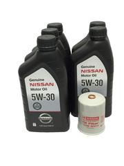 Genuine Nissan 5W-30 Oil Change Kit