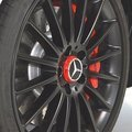 Amg Hub Cap - In Center Lock Design - Red - Mercedes-Benz (000-400-09-00-3594)
