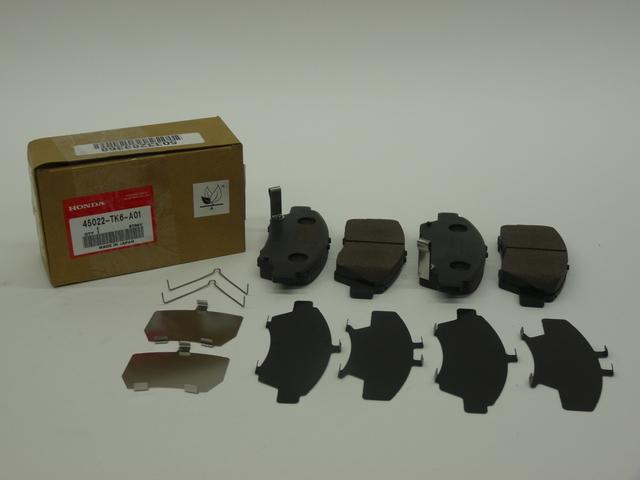 Ak Ns236H Ef Pad Set Genuine Honda 45022-TK6-A00 Front