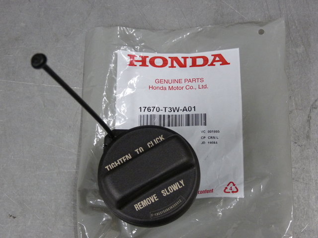 Genuine Honda 17670-TR0-A01 Fuel Filler Cap