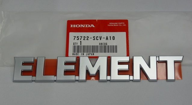Genuine Honda 75722-SCV-A20ZB Emblem