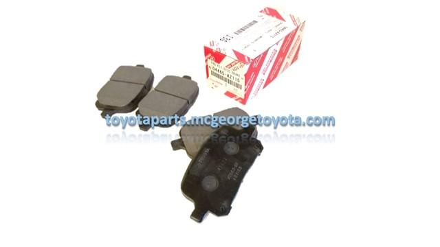 Front Brake Pad  NEW PREMIUM Toyota TCMC PAD KIT--- OPT for part# 04465-33121--- - Toyota (04465-AZ115)
