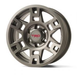 Trd 17-In Matte Gray Alloy Wheel - Toyota (PTR20-35110-GR)