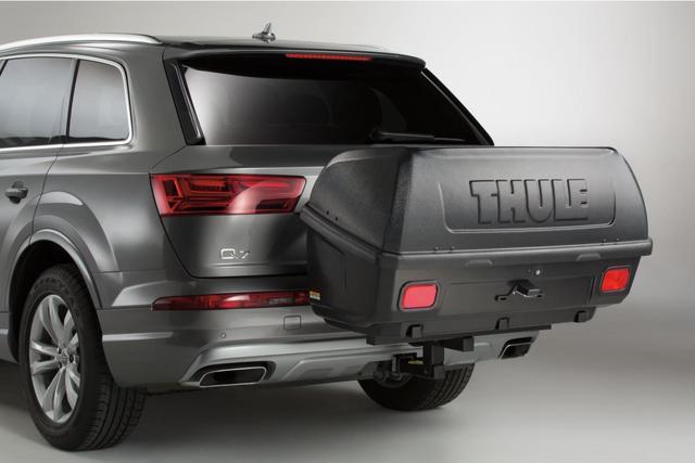 Thule® Transporter Combi Hitch-Mount Cargo Box - Audi (ZAW-071-200-DSP)