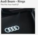 Audi Beam - Rings - Audi (4G0-052-133-G)