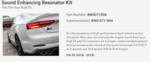 Muffler - Audi (8W0-071-904)